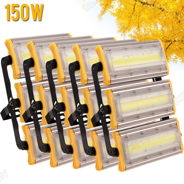5X 150W Warm White LED Flood Light IP66 Outdoor Arena ...