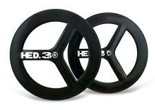 HED.3C Tri-spoke Decal/Sticker Set of 4 White For 40mm+ rim  Free Standing