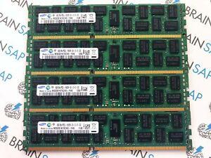 32GB-4x-8GB-DDR3-RAM-Samsung-M393B1K70CH0-YH9-RDIMM-2Rx4-PC3L-10600R-MwSt