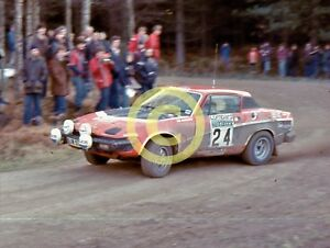 Details about Photo John Haugland BL Works Group 4 Triumph TR7 V8 TR8 1978  Lombard RAC Rally