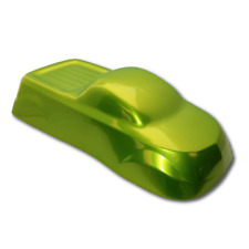 Powder Coating Paint Dormant Shocking Green Candy Chrome 1lb 45kg