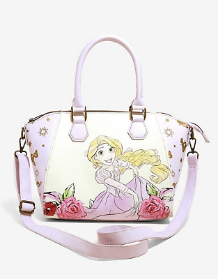 Loungefly Disney Tangled Rapunzel Floral Satchel Bag New Ebay