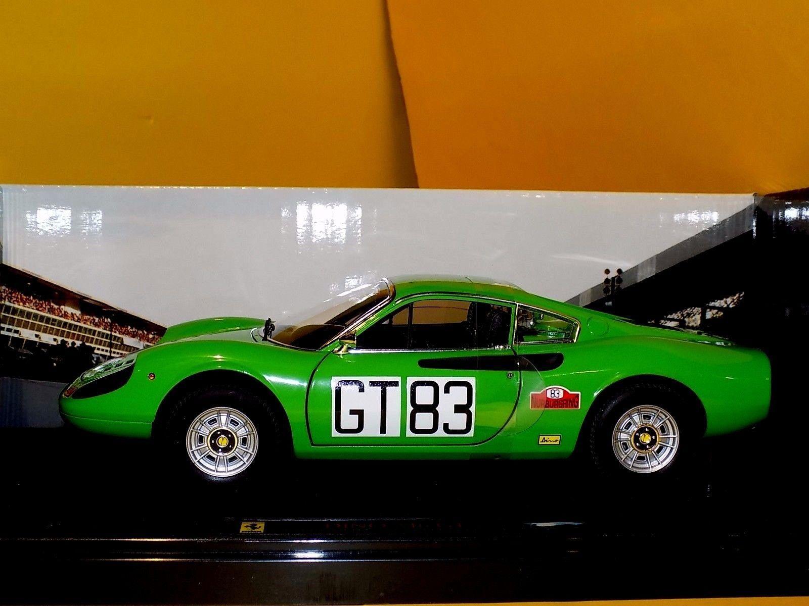 ofreciendo 100% Ferrari Dinosaurio 246 246 246 GT 1000km emulador   1 18 GT 83 Elite T6260  Envío y cambio gratis.