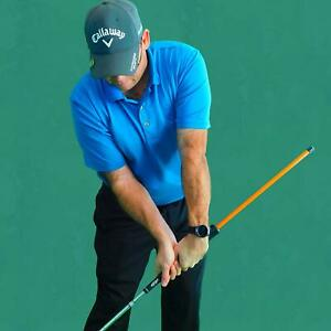 Anti-Flip Stick; Impact Golf Swing Training Aid | Teaches Proper Impact & Swing