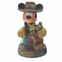 Disney Parks Mickey Mouse As Indiana Jones Plastic Coin Bank