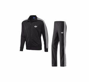 Adidas firebird tuta completa colore nero bianca taglia s for Adidas che cambiano colore