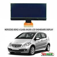 MERCEDES BENZ A CLASS W169 LCD VDO DISPLAY SCREEN for INSTRUMENT CLUSTER DASH