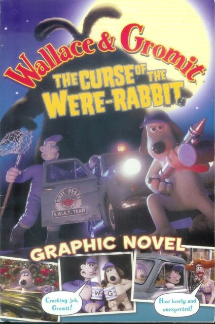 WALLACE & GROMIT: THE CURSE OF THE WERE-RABBIT Graphic Novel (Penguin; 2005)