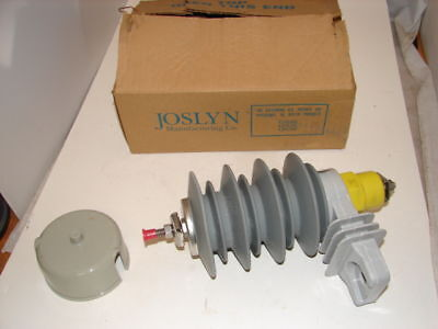 Details about  /NEW IN BOX JOSLYN 8132B0010J001 ARRESTER 10KV ZE ELBOW 8.4 KV MCOV