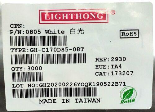 2mm×1.2mm 2012 500pcs red super bright smd led 0805