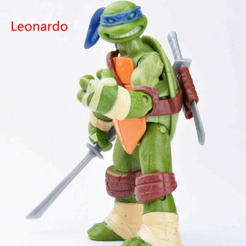 4X Teenage Mutant Ninja Turtles Classic joints movable Retro Action Figures Kids