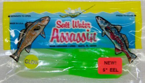 "Bass Assassin Eel Assassin 5/"""