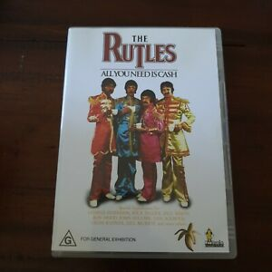 The-Rutles-All-You-Need-is-Cash-Eric-Idle-Beatles-Parody-Movie-RARE-R4-DVD