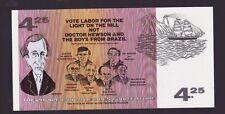 Australia political note $4.25 Labour Hewson Brazil G-521
