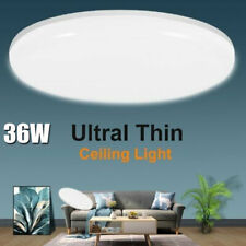 36w Led Surface Mount Fixture Ceiling Light Bedroom Lamps Round Panel Lights Us