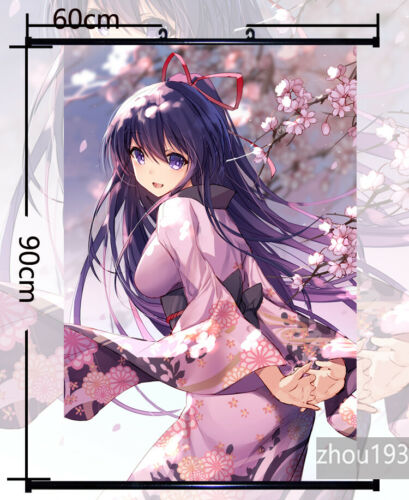DATE A LIVE Yatogami Tohka Wall Scroll Poster Home Decor Art Gift 60*90CM#0411