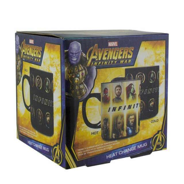 Taza Termica Marvel Avengers Infinity War