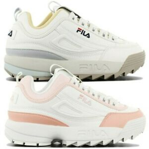 fila disruptor cb low leather sneaker women's casual shoes