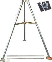 Tripod Kit Heavy Duty 5' Tripod, Lag Kit, & (2) 5' Mast Pipes - Antenna Mount