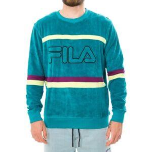FELPA-UOMO-FILA-JACE-STRIPED-TOWELLING-CREW-684464-A153-SWEATSHIRT-CREWNECK-MAN