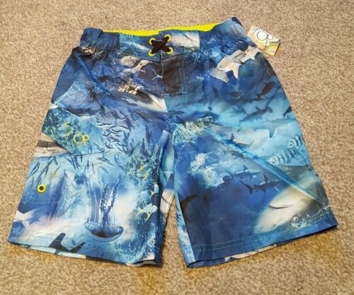 Ocean Pacific Mesh Lined Boys Quality Board Shorts Size 4-5 yrs Brand new