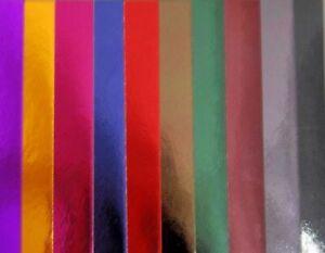 Spiegel-karton 10 Farben Paper-pack Glanz-Papier Winter A4 JoyCrafts 8011/0106