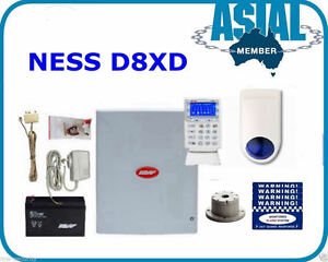 Home-Security-NESS-Alarm-D8XD-Kit-LCD-Navigator-Touchscreen-Keypad