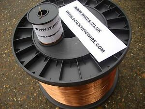 Image is loading 2-00mm-ENAMELLED-COPPER-WINDING-WIRE-MAGNET-WIRE- d5610b21e9