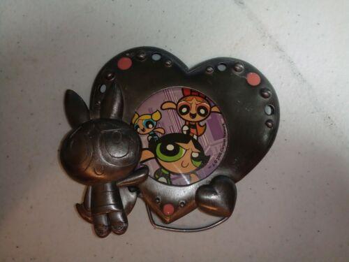 Powerpuff Girls Pewter Picture Frame VINTAGE 2000
