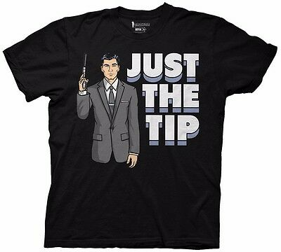 Archer Just The Tip Licensed Adult Shirt S-XXL