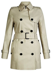 Trench-Giacca-Giubbotto-Aquascutum-London-Donna-Women-Jennifer-Rainwear-Beige