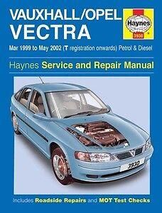 haynes owners workshop car manual vauxhall vectra petrol diesel rh ebay co uk Old Vauxhall Astra Vauxhall Astra Boot