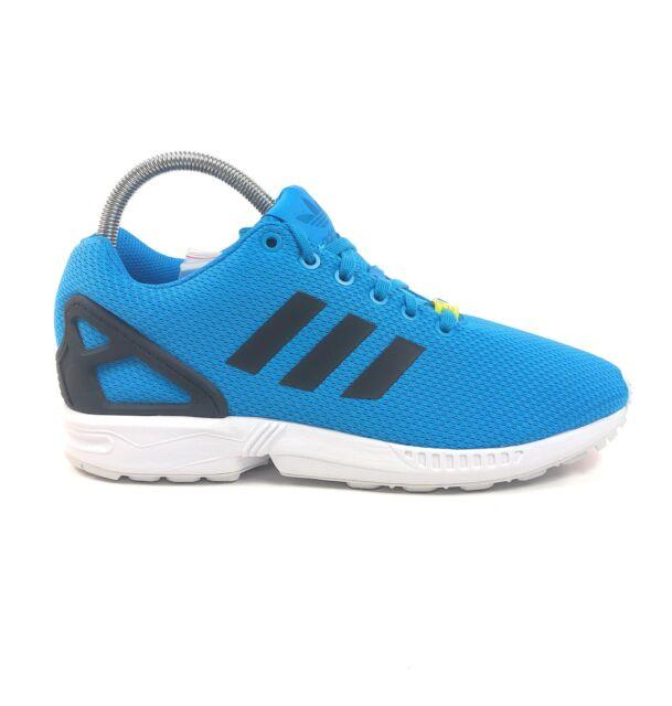 Adidas Originals ZX Flux Torsion Solar Blue White Mens Low Size 9 Shoes M19839