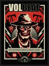 """Volbeat """" Ghoul Frame"""" Patch/Aufnäher 602575 #"""