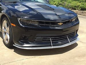Details about 2014-2015 Camaro SS Front Wind Splitter