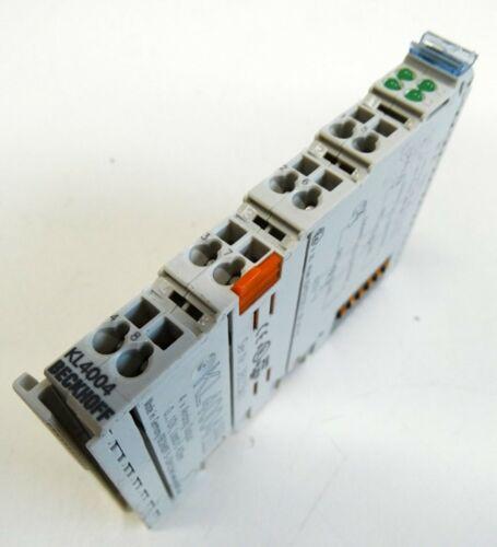 used Beckhoff KL4004 KL 4004 4 x Analog Ausgangsklemme 0-10V