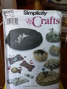 Oop-Simplicity-Crafts-9065-dog-cat-bed-cushions-placemats-NEW
