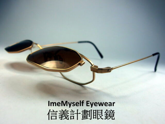[ImeMyself Eyewear] Matsuda 14601 (Gold) Ultra Rare Clip on  Vintage sunglasses