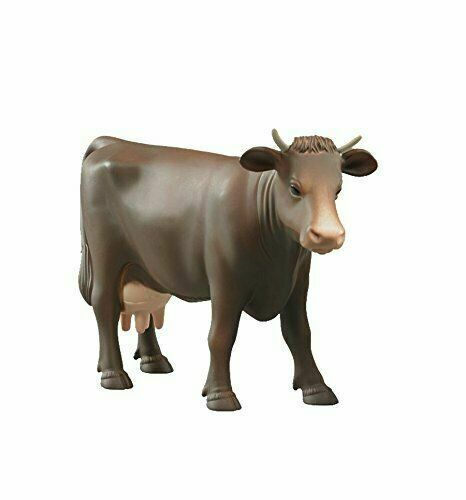 NEUF BRUDER TOYS Marron Vache pâturage Figure 1:16 Scale-Bruder 02308-Farm Toy
