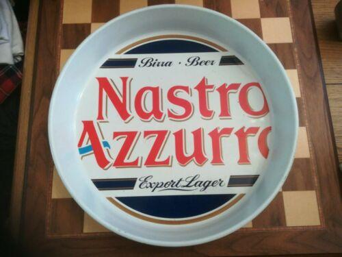 Promotional Branded Nastro Azzurro Peroni 35cm Non Anti Slip Serving Tray C.2000