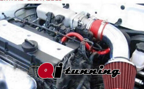 Red Air Intake System Kit For 2001-2005 Hyundai Accent 1.6L L4