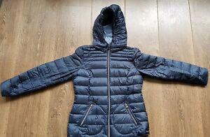 Details zu Esprit Daunenjacke Blau Größe 38