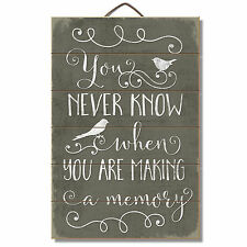 Quotes Sayings Wood Home D Cor Plaques Signs Ebay