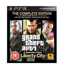 Grand Theft Auto IV GTA 4 & Episodes Complete for Sony PlayStation 3 Ps3