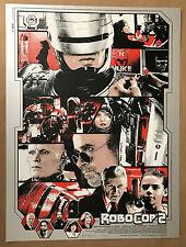 Kyle Crawford Electric Zombie ROBOCOP 2 Enforcer Movie Poster Peter Weller