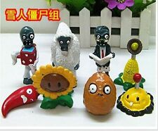 8x Plants Vs Zombies Toys Series Game Role Figure Display Toy PVC
