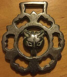 Brass-Harness-Decoration-Fox-Head-5