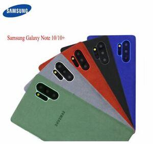 100-Original-Samsung-Galaxy-Note10-10-Plus-Cover-Leather-Alcantara-Genuine-Case