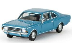 Brekina-20651-REKORD-C-Coupe-blu-scala-HO-1-87