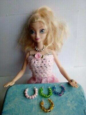 Abbigliamento E Gadget Made For Frozen Principessa Elsa Bambole-mostra Il Titolo Originale Alta Sicurezza